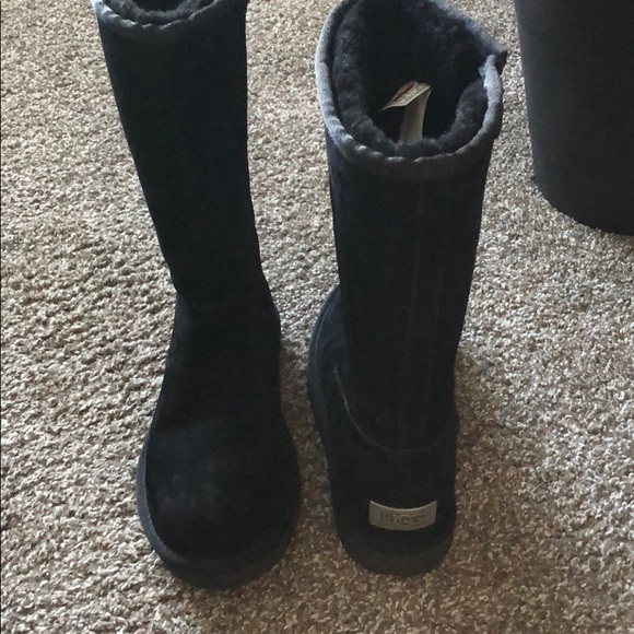 UGG Shoes | Black Tall Ugg Boots With